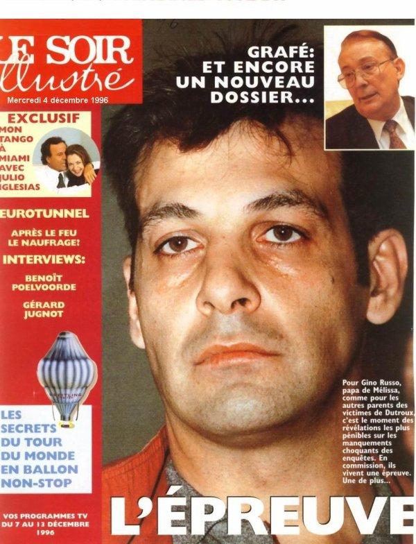 L'épreuve « UNE » (« Le Soir Illustré » du mercredi 4 décembre 1996)