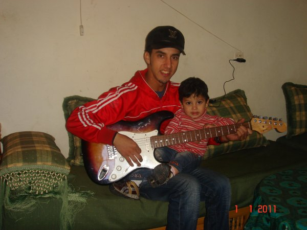 moi avec  adam bebe de ma soeur