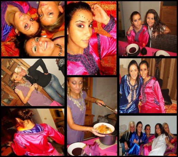 Soirée Oriental Chez Claudia; Meli, Gwen, Cel, Cla, Marina <3