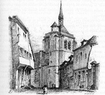Ervy le Chatel, Eglise