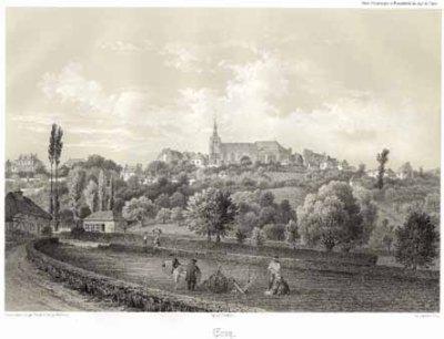 Ervy le Châtel, gravure