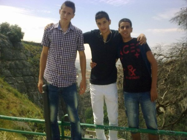 moi et mes deux meilleurs amis
