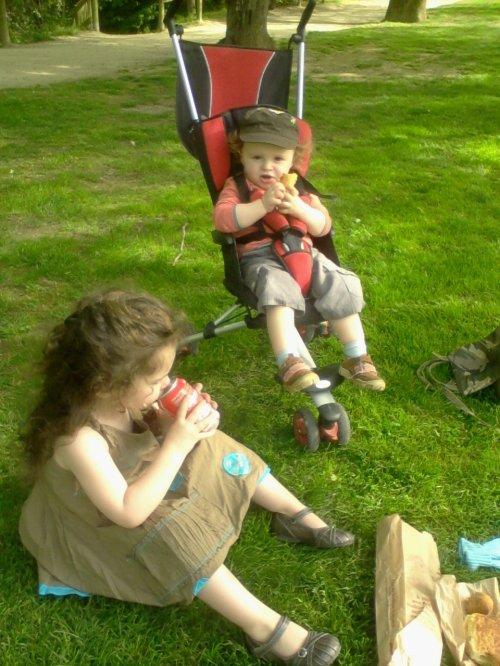 Goûter au parc...