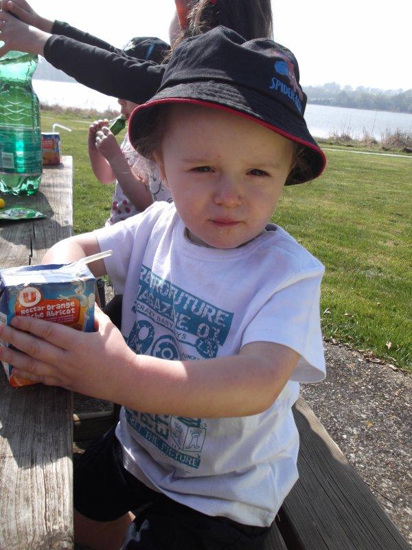 Pique-nique et après midi à l'étang de Pouancé