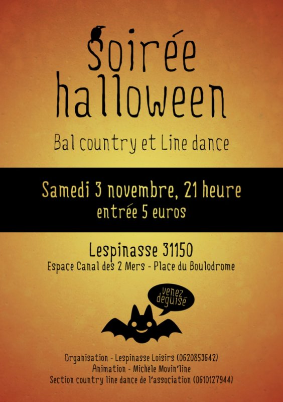 SOIREE HALLOWEEN A LESPINASSE