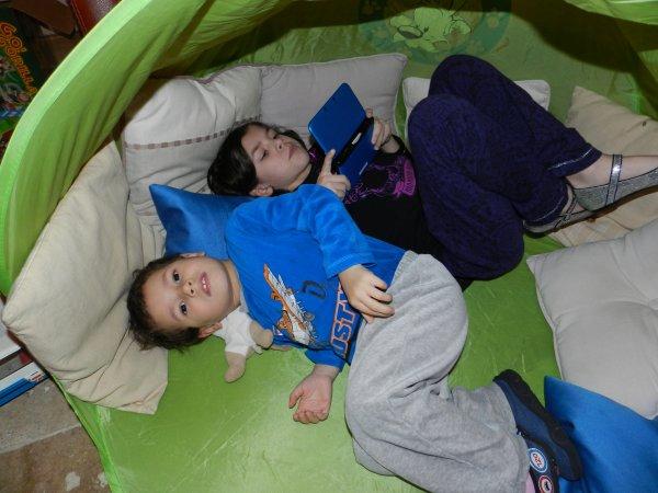 Camping improvisé.....