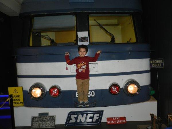 Voyage au pays du rail.....