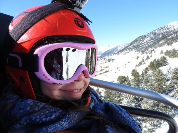 De retour du ski...