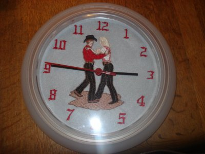 horloge dance