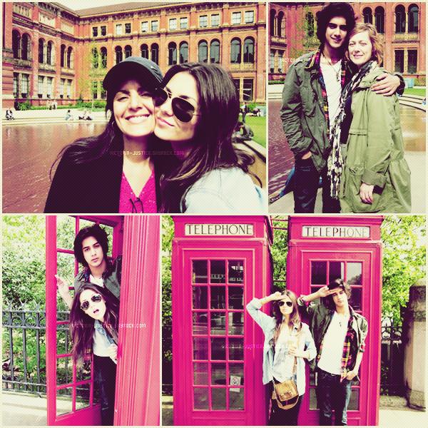 PHOTOSHOOT 2010 ▬ En exclusivité un photoshoot de Victoria et son BFF Avan Jogia pendant leurs voyage à Londre.