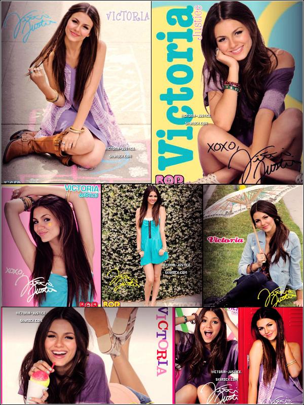 ♦ Photoshoot  2009  Victoria pose pour le magazine Bop and Tigerbeat       Découvrez aussi une nouvelle vidéo et une annonce de concert pour Vic'.
