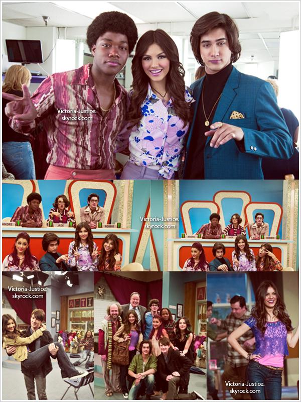 Victorious Photos promotionelles de l'épisode April Fools Blank, qui va être diffusé samedi aux USA.