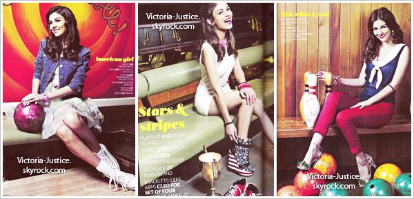 Avril 2012   Victoria apparaît dans le Teen Now Magazine en Grande-Bretagne, avec une interview.