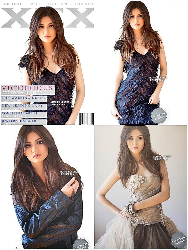 Avril 2012   Victoria fait la couverture de XEX Magazine. Nous avons aussi 3 photos provenant du shoot.