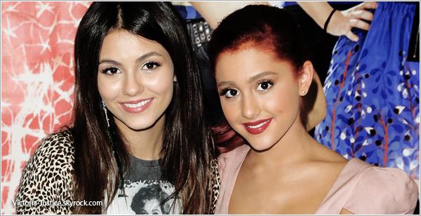 Ariana Grande :  Victorious est fini car une fille ne voulait plus le faire »