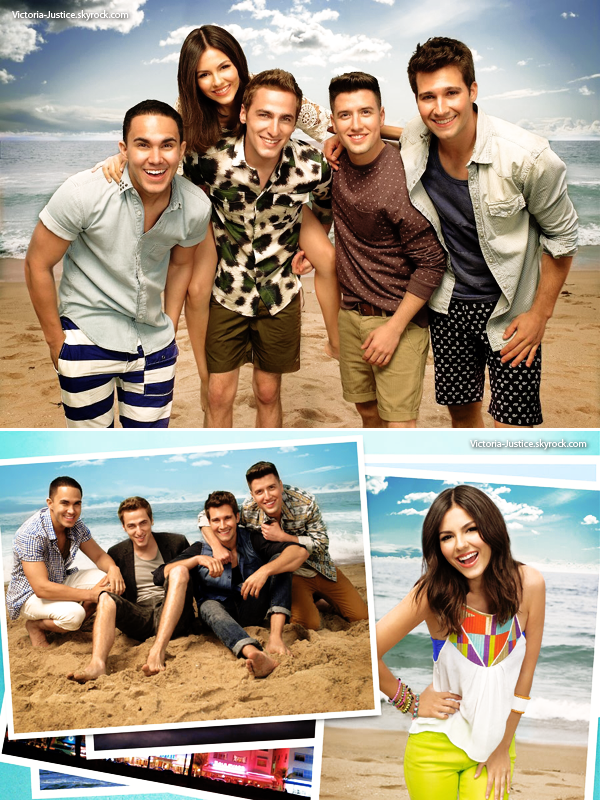 Victoria ouvrira la tournée Summer Break du groupe Big Time Rush