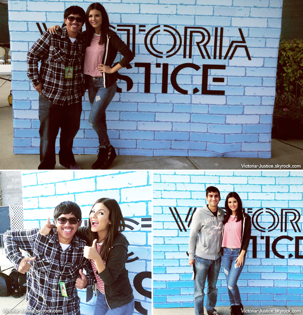 23/06/13     Victoria a performé au Summer Break Tour au Sleep Train Pavilion, Concord, CA + meet & greet
