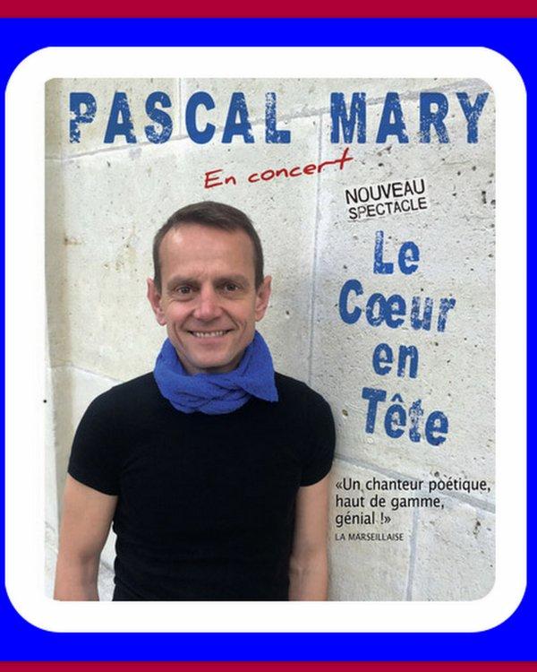 PASCAL MARY À L'AUDITORIUM LE SAMEDI 8 OCTOBRE 2016 À 21H