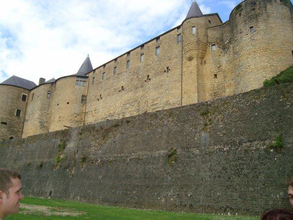 Journée en France château fort de Sedan 17 juillet 2016