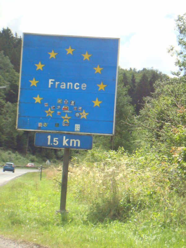 Journée en France a Sedan 17 juillet 2016