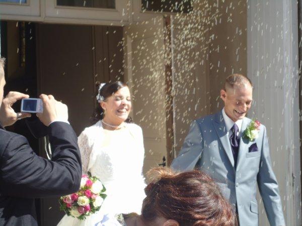 mariage de mon grand avec vanessa le 08 09 2012