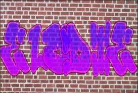 mon prénom en graff