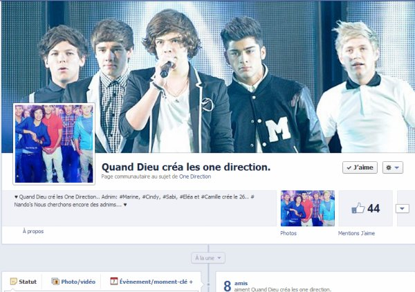 Rencontre directioner facebook