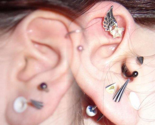 mes piercings :D ♥