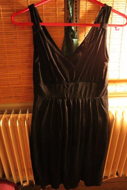 robe noire h&m taille 36