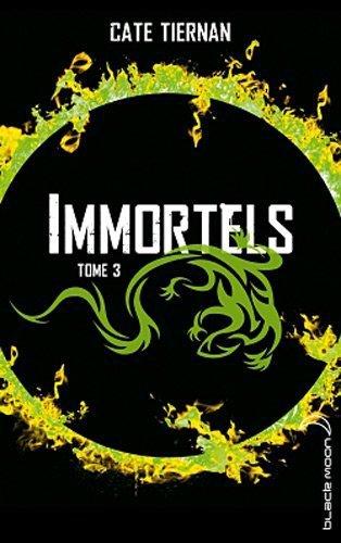 Chronique : Immortels - Tome 3 : La Guerre de Cate Tiernan