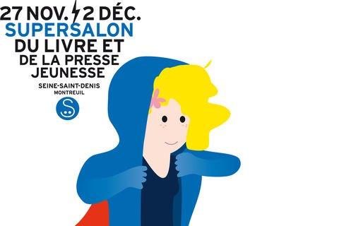 Salon du Livre et de la Presse Jeunesse de Montreuil !