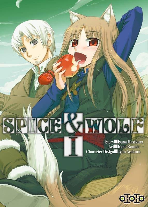 Chronique : Spice & Wolf - Volume 1 de Isuna Hasekura, Keito Koume & Jyuu Ayakura