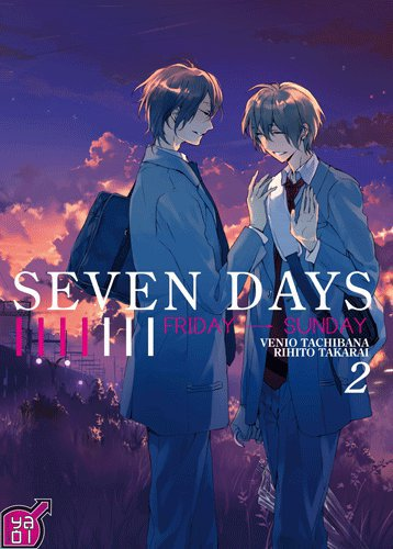 Chronique : Seven Days - Volume 1 & 2 de Venio Tachibana & Rihito Takarai