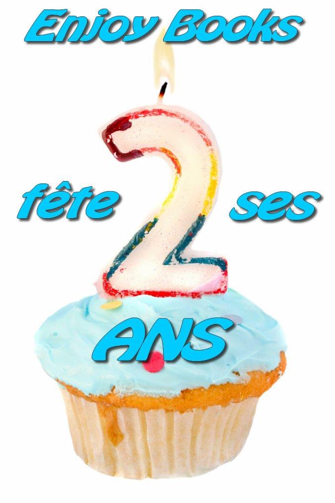 *Concours* : Enjoy Books fête ses 2 ans sur la blogo !