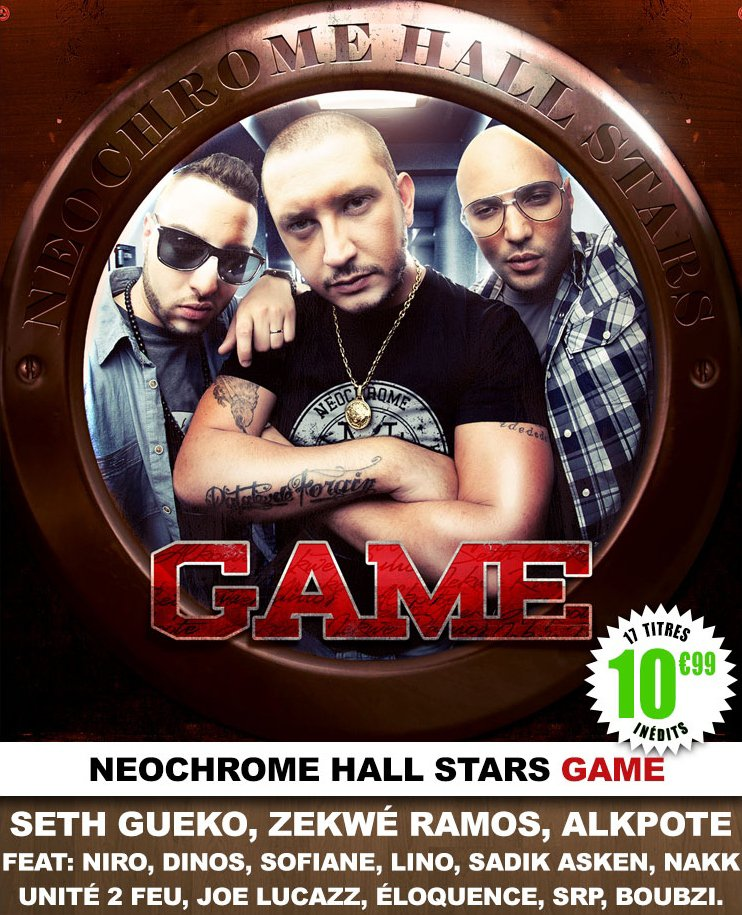 NEOCHROME HALL STARS GAME  | Disponible le 26 NOVEMBRE |