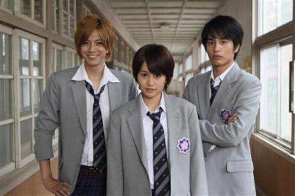 Hanazakari No Kimitachi E 2011  / japonais / 2011 / Théme : Ecole, Comédie, Romance  Épisodes : 11