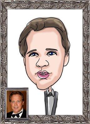Steve caricaturé