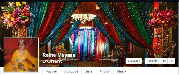 KHEIRL HOUDA fait confiance à l'organisation d'évennements Reine Mayssa d'Orient