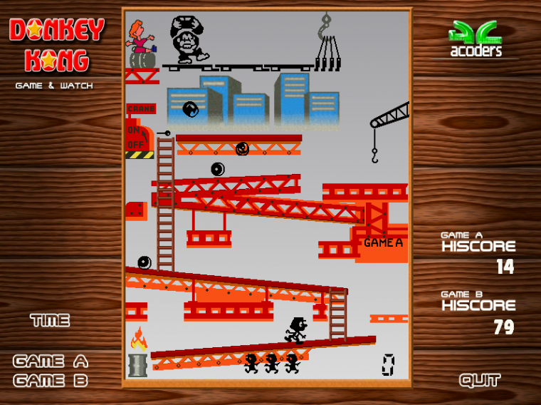 Game & Watch - 1981 : Donkey Kong