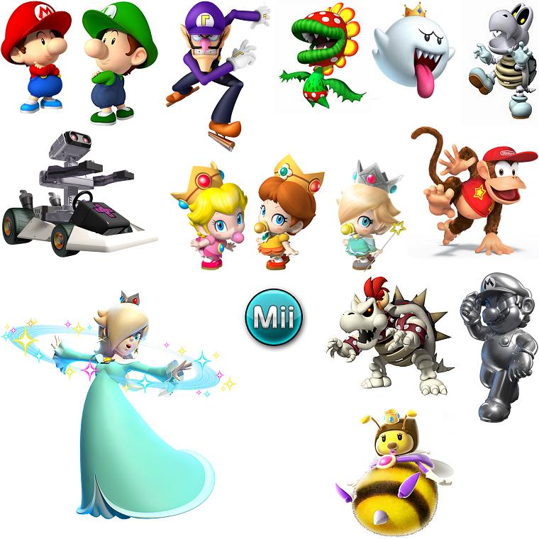 Antagonistes des Jeux Mario