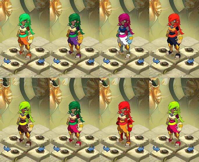 MMO - Dofus : Apparences de Personnages (servez-vous en cas de panne d'inspiration)