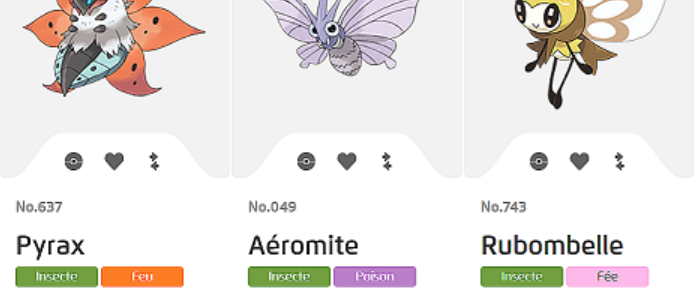 Pokemon : Pokemon Papillon