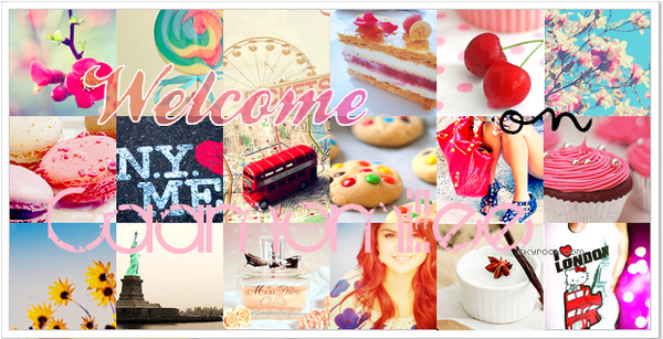 + Welcome _______________________________________________________________ Caamomillee ♦ Monday, June 28th @ 8.55 pm