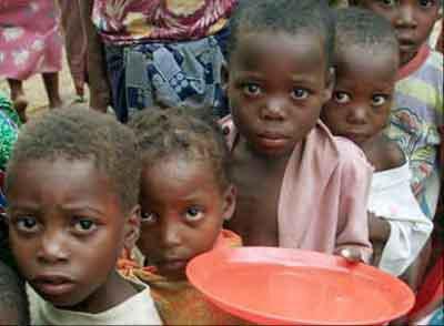 la misere en afrique