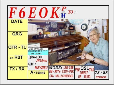 PARLONS DU RADIO-AMATEURISME.......................................................................................... TALK ABOUT THE AMATEUR RADIO