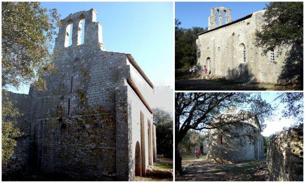 Causse d'Aumelas et Chapelle Saint Martin du Cardonnet 23/01/2015