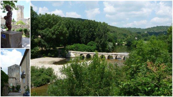 Montclus et cascades du Sautadet 02/06/2017