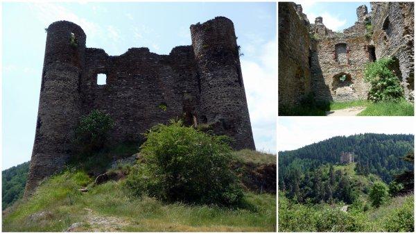 Cantal J1 - Château d'Alleuze 13/06/2017