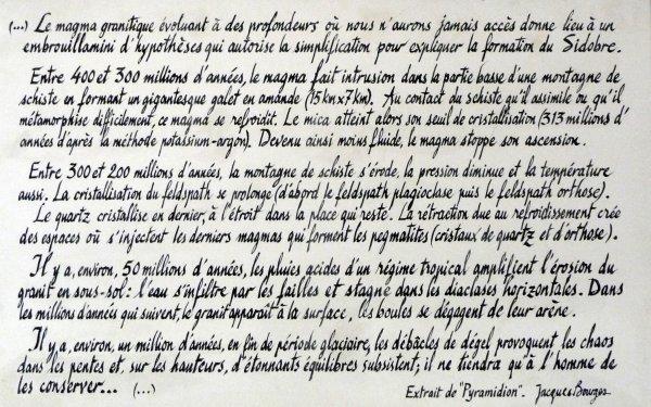 Sidobre : Sentier des Meveilles 03/10/2018 (Suite)