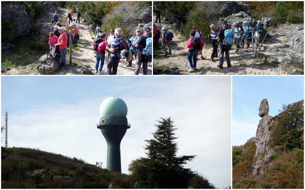 Massif de l'Escandorgue à Roqueredonde 19/10/2018
